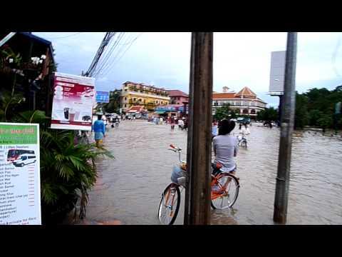 Flooding Siem Reap