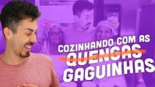 CARLINHOS MAIA COZINHA COM AS GAGUINHAS