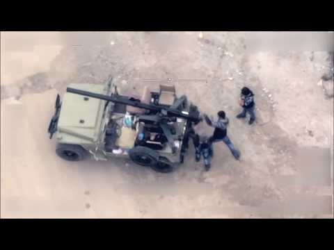 Drone view shows anatomy of attack on YPG fighters in Syria -Turkish military