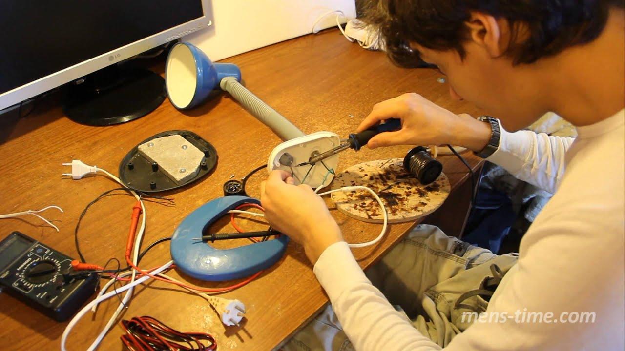 Реставрация настольной лампы своими руками