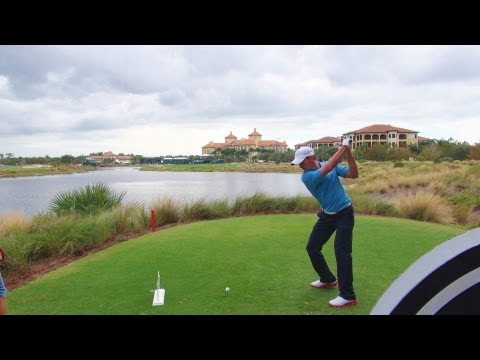 GOLF SWING 2012 - MIKE WEIR DRIVER - DOWN THE LINE & SLOW MOTION (CLOSE UP) - HQ 1080p HD