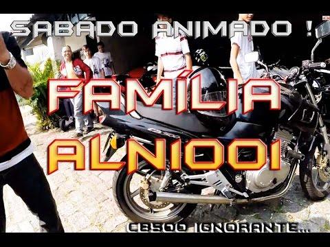 Aln1001 - SabÁdo Monstro - Visita Da FamÍlia - Cb500 Cano Kid Bengala video