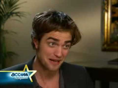 Robert Pattinson Interview-Really Funny Video
