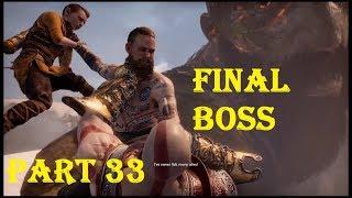 GOD OF WAR Walkthrough Gameplay Part 33 - Final Boss Fight