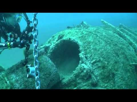 Diving the U352 and Placing a Geocache