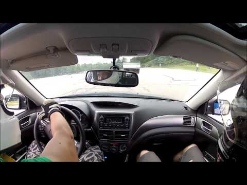 NEOHIO SCCA autox  Lakeland Community College - Subaru Impreza