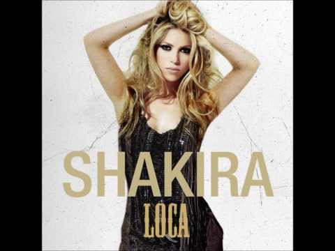 Shakira - Loca (Audio - English Version)