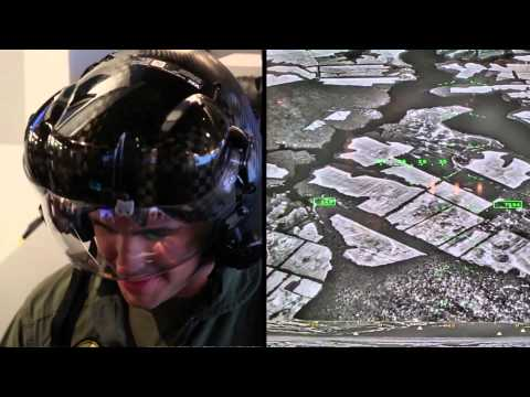 US Military's X-Ray Flight Helmet | F-35 Joint Strike Fighter