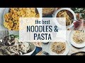 THE BEST NOODLES & PASTA (VEGAN) | hot for food
