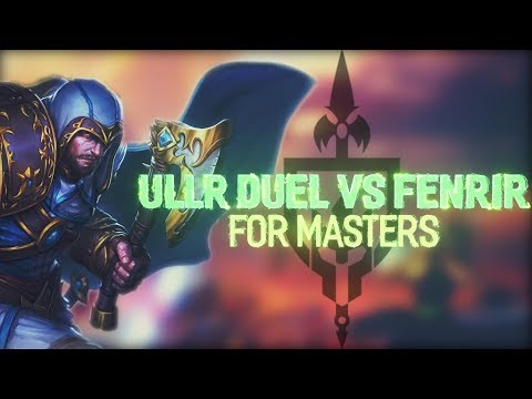ULLR DUEL: HUNTER OR THE HUNTED? FOR MASTERS! - Incon - Smite