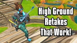 Simple High Ground Retakes That ACTUALLY Work! - Fortnite Battle Royale