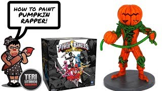 How to Paint: Power Rangers: Heroes of the Grid's Pumpkin Rapper (Tutorial)