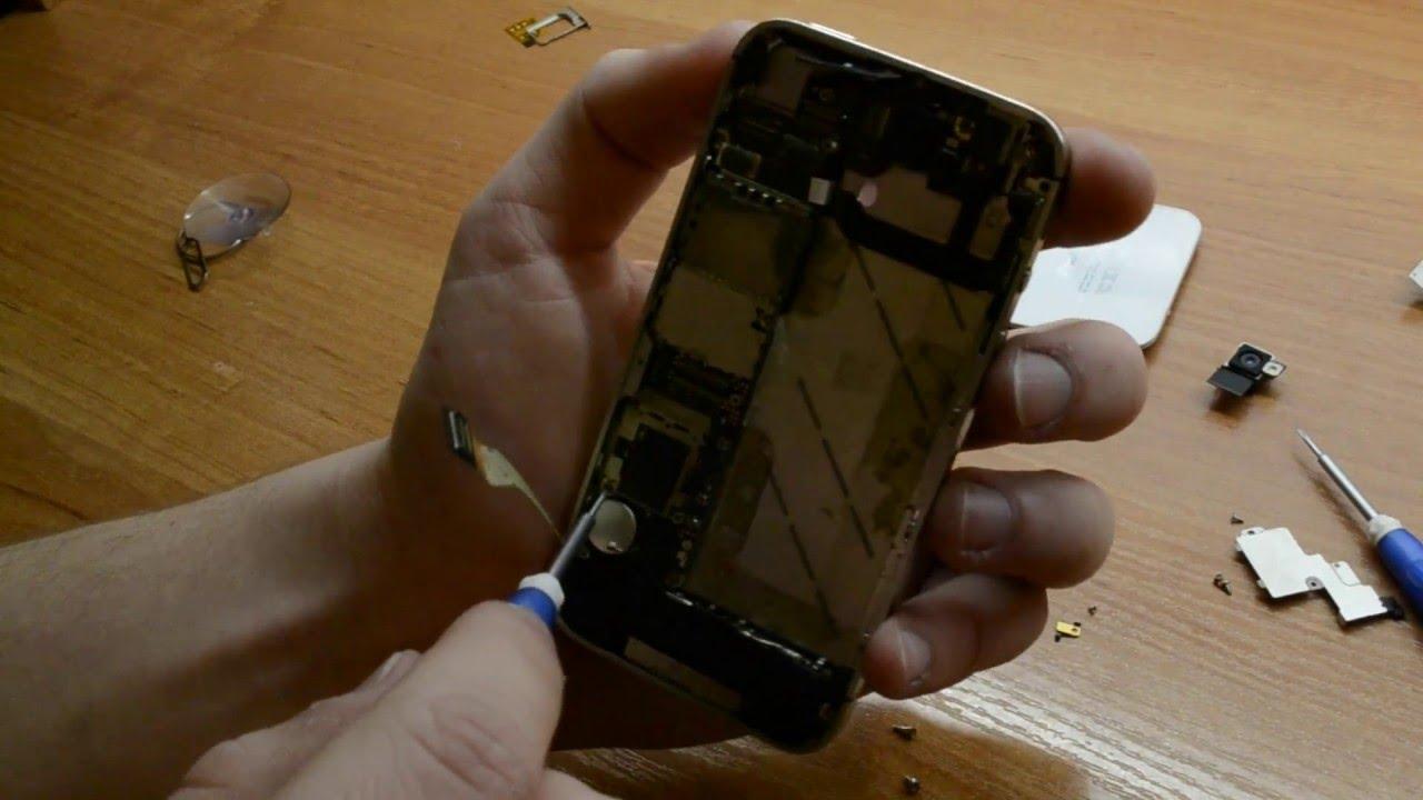 Разобрать айфон 4 своими руками 86