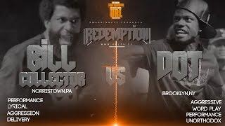 DOT VS BILL COLLECTOR SMACK/ URL RAP BATTLE | URLTV