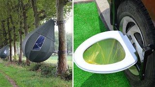 8 CAMPING INVENTIONS OF AN ENTIRELY NEW LEVEL