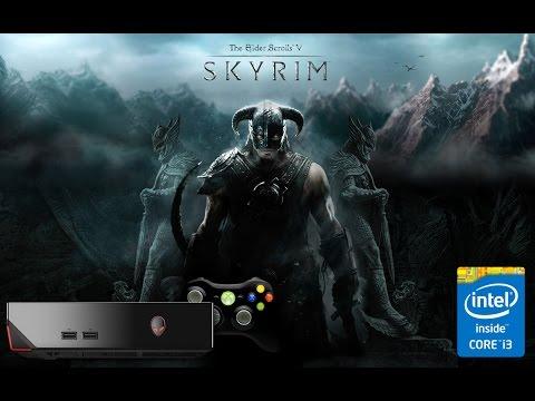 The Elder Scrolls V: Skyrim LIVE STREAM w/  Commentary on AlienWare Alpha i3 Ultra Graphics.