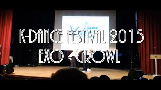 K-Dance Festival 2015 Turkey - 으르렁 by 리바운드