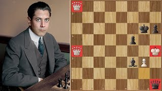 The Real Challenge Capablanca Vs Frank Marshall