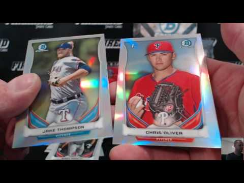 8 Box Bowman JUMBO Prospectacular Baseball Mixer Break #8 ~ 6/25/17