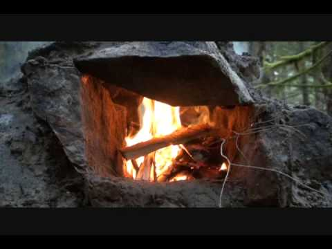Bushcraft Group fireplace challenge