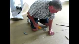 Installing Carpet: Laying Carpet Pad