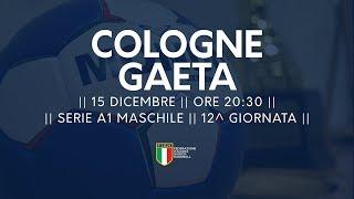 Serie A1M [12^]: Cologne - Gaeta 27-27