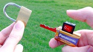 Invenzione Incredibile per Aprire Lucchetti