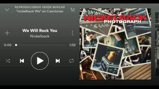 Nickelback(We Will Rock You) HQ