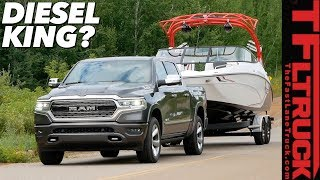 Here is How the 2020 Ram 1500 EcoDiesel Tows and Goes Off-Road! First Drive Review