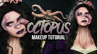 OCTOPUS 🐙SFX Halloween Makeup Tutorial - #spooktober