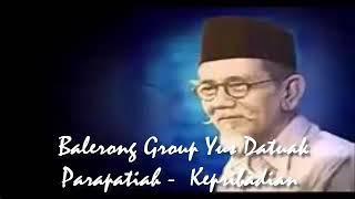 Kepribadian  Orang Minang  ツ►  Balerong Group Yus Datuak Parapatiah