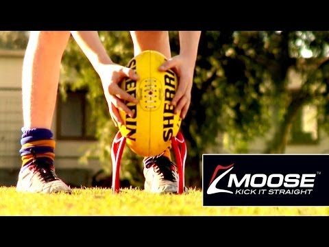Moose Kick it Straight Rugby Kicking Tee