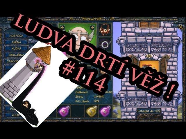 Let's play Shakes & Fidget CZ - Ludva drtí veže ! #114