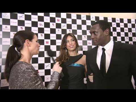 Kirsty Gallacher interview with Emile Heskey and Chantelle Tagoe - A Nomad Video Production