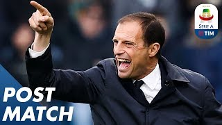 Spal 2-1 Juventus | Allegri and Semplici Post Match Press Conference | Serie A