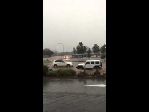 Heavy Rains in Bloemfontein