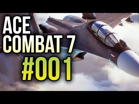 Ace Combat 7 #001 ✈️ Erste Flugstunde und gleich Dogfight - Let's Play | Gameplay | Deutsch