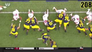Every Michigan Football Point of 2016