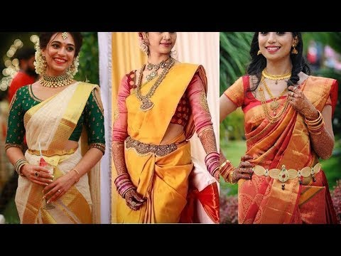 Top 40 Bridal Pattu Saree Blouse Designs - She Fashion