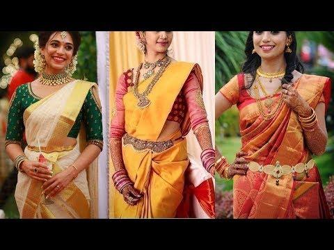 Top 40 Bridal Pattu Saree Blouse Designs - She Fashion