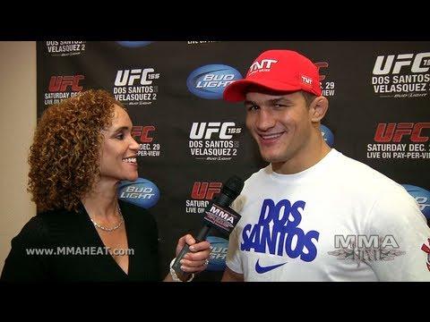 UFC 155 Champ Junior Dos Santos on Mental Edge In Velasquez Rematch  Fathers Advice