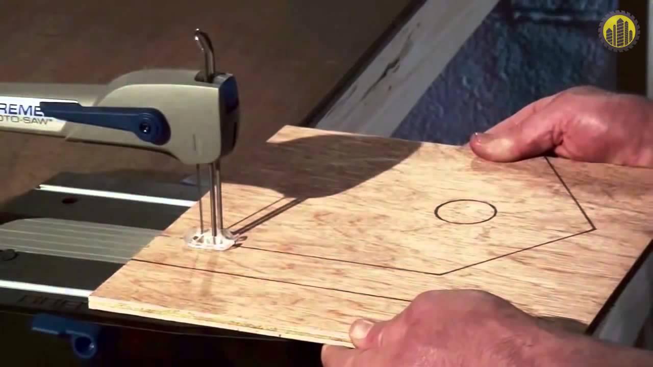 Как сделать ручной лобзик по дереву своими руками