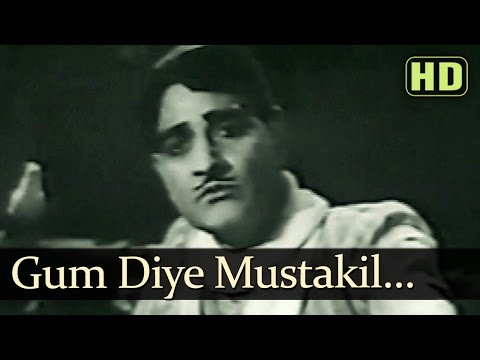 Gum Diye Mustaqil Itanaa - Shahjehan Songs - K L Saigal - Ragini...