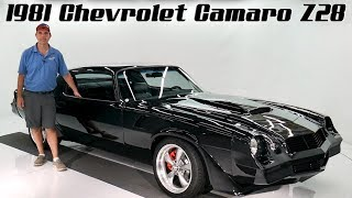 1981 Chevrolet Camaro Z28 Restomod for sale at Volo Auto Museum (V18548)