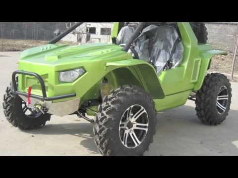 NEW 2011 HuVuR Canada 600 Predator 600cc EFI 4x4 ATV Go Kart Dune Buggy Halo Warthog