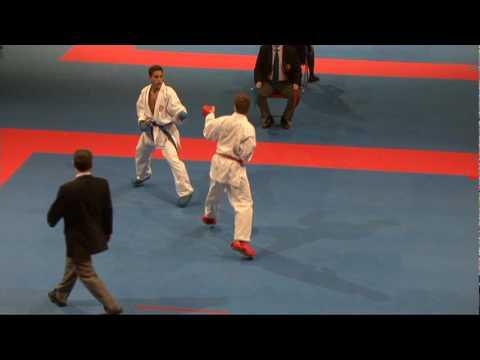2009 WKF Jr Worlds Junior -68 Kg Aka USA vs Ao Tunisia