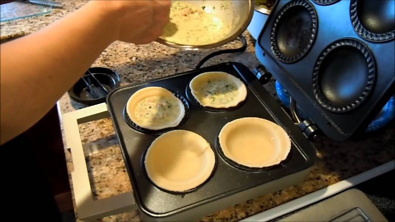 breville the personal pie maker youtube