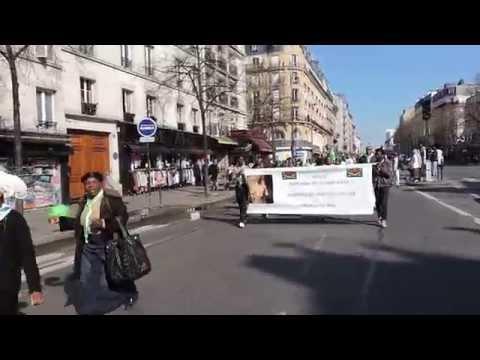 MARCHE KIMBANGUISTE DU 6 AVRIL 2015 A PARIS