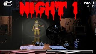 Прохождение игры five nights at freddys 2 часть 1