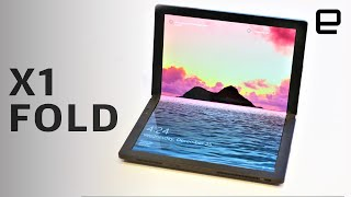 Lenovo ThinkPad X1 Fold hands-on at CES 2020